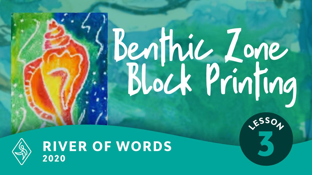 Benthic Zone Block Printing