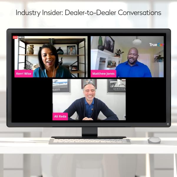 """TrueCar """"Industry Insider: Dealer-to-Dealer Conversations"""" guest Ali Reda"""