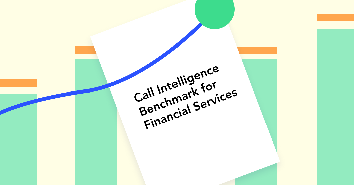 Call Intelligence Benchmark for Financial Services