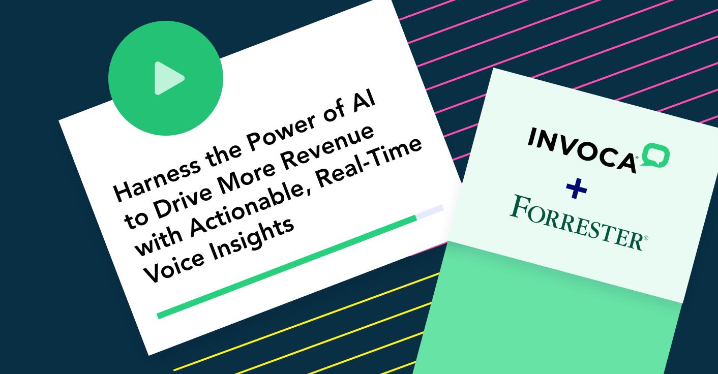 Harness the power of AI to drive more revenue with actionable, real-time voice insights