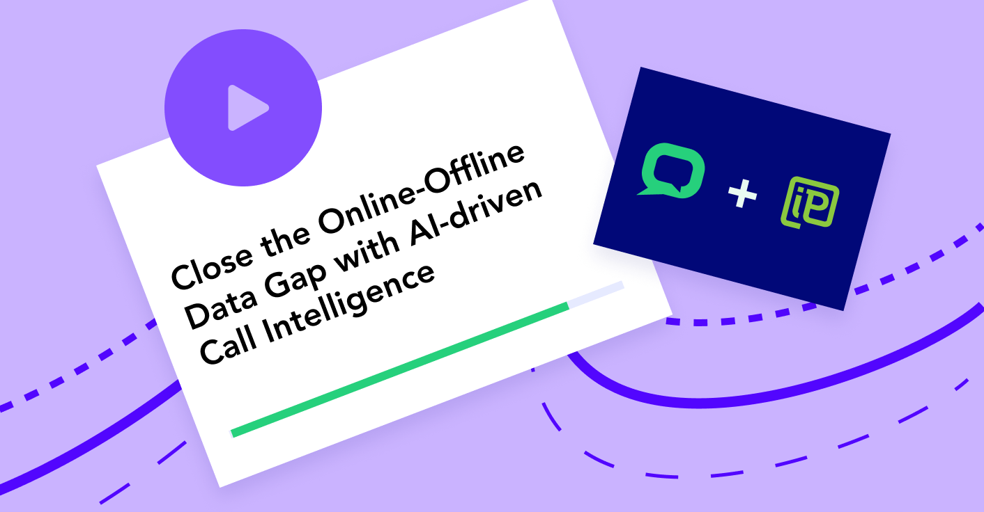 Close the online-offline data gap with AI-driven call intelligence