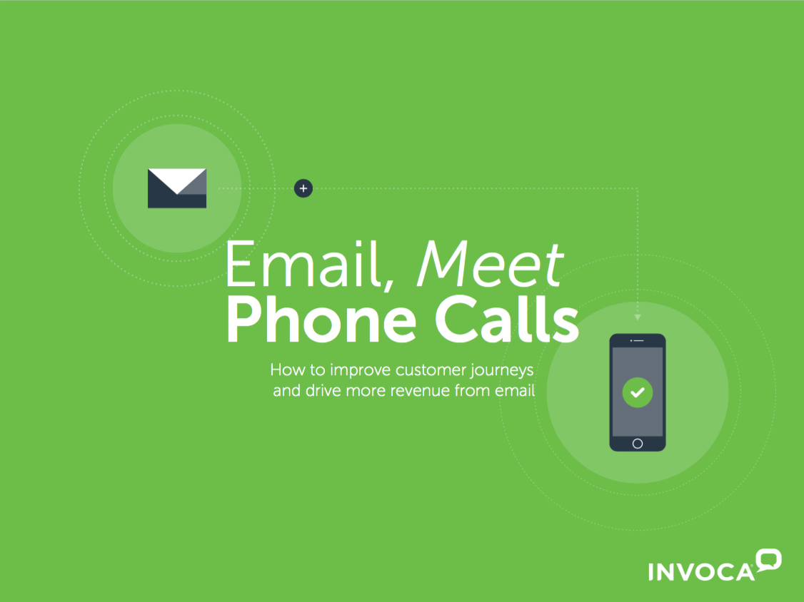 Email Marketers, Meet Phone Calls