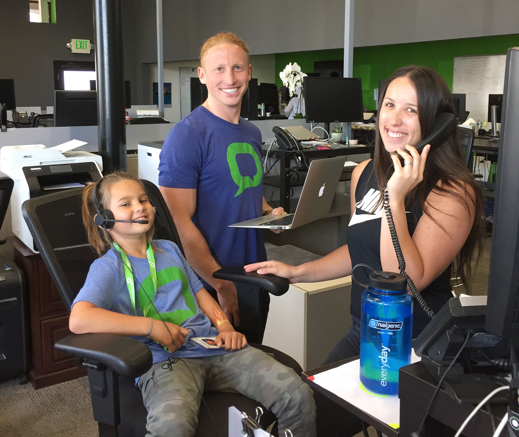 Invoca's Bring Your Kids to Work Day 2018