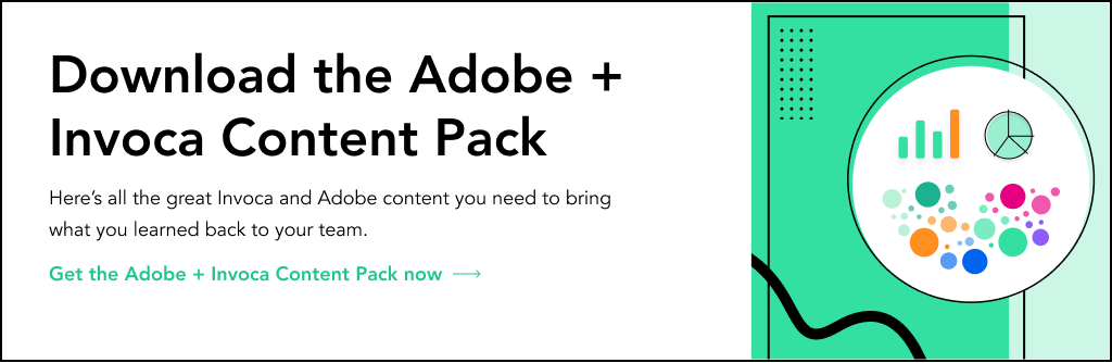 Download the Adobe + Invoca Content Pack