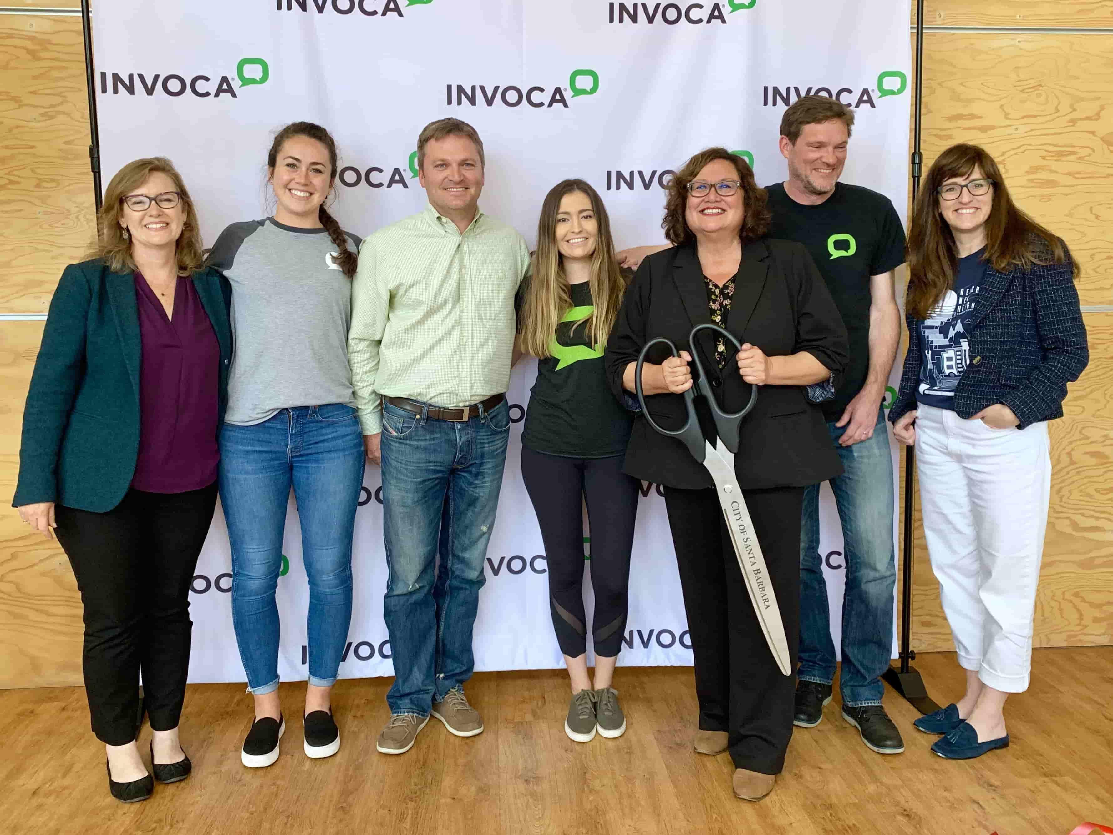Santa Barbara Mayor Helps Invoca Commemorate its New State Street Headquarters