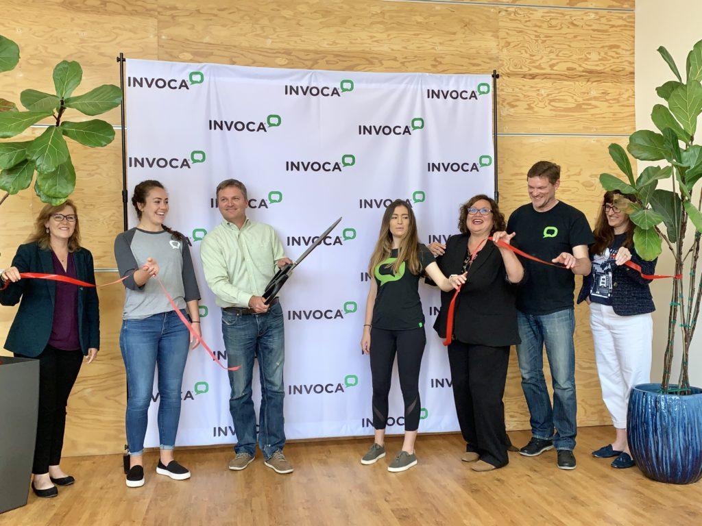 Invoca new headquarters Ribbon Cutting