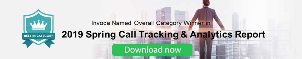 Click here to download 2019 Spring Call Tracking and Analytics Report
