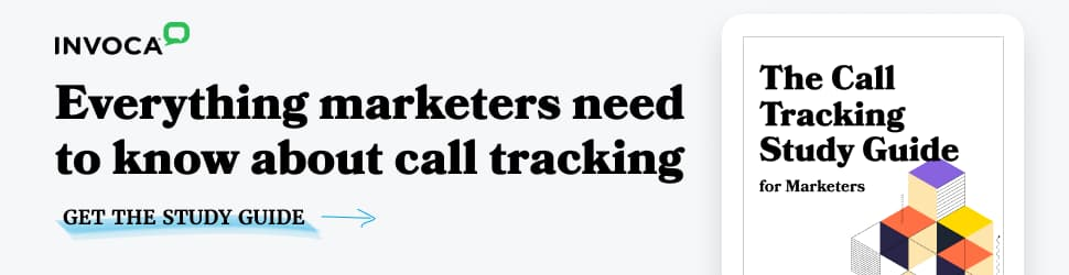 Download The Call Tracking Study Guide for Marketers
