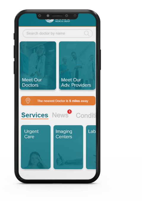 BASS Medical Group Mobile app photo