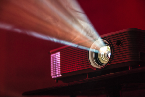 Media & entertainment image - projector