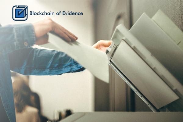Blockchain of Evidence showcase image