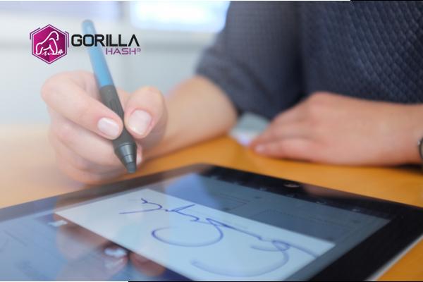 GORILLA HASH digital signature showcase image