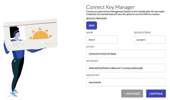 Configuring Key Vault settings