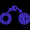 Zero Knowledge Token Transfer icon