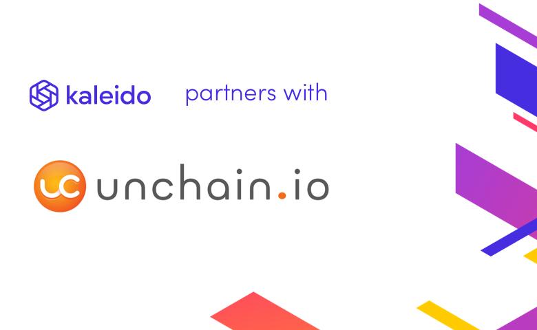 Unchain.io Joins the Kaleido Blockchain Marketplace