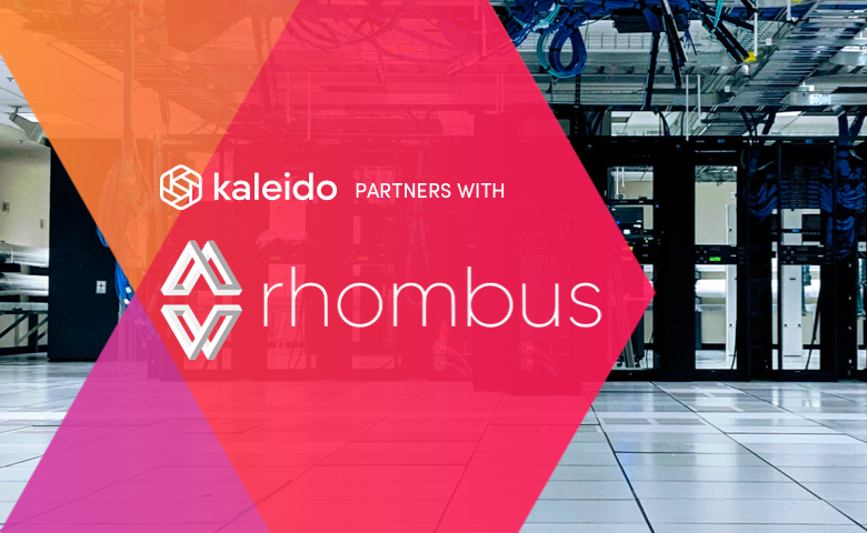 Kaleido and Rhombus partner to bring off-chain data feeds into enterprise blockchain networks