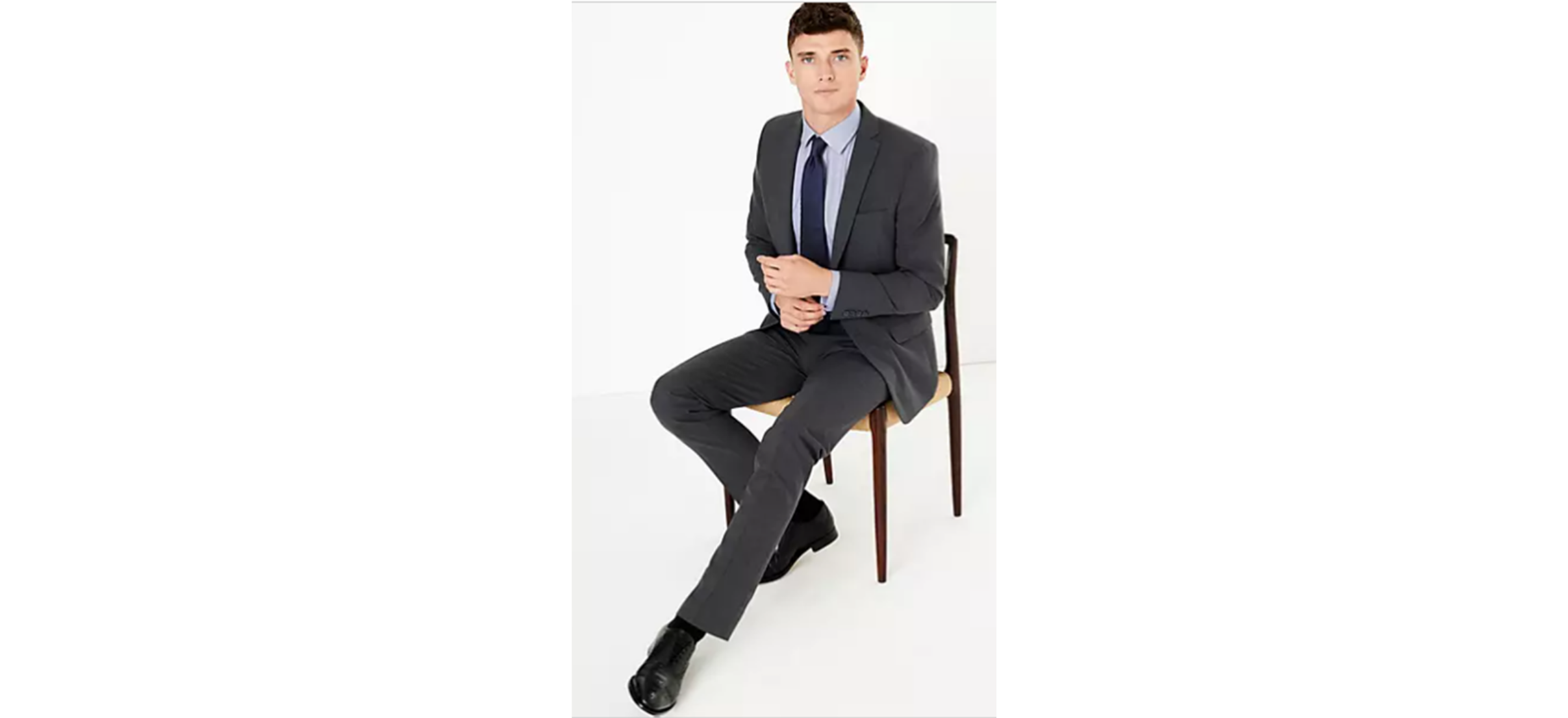 The Ultimate Charcoal Slim Fit Suit from M&S