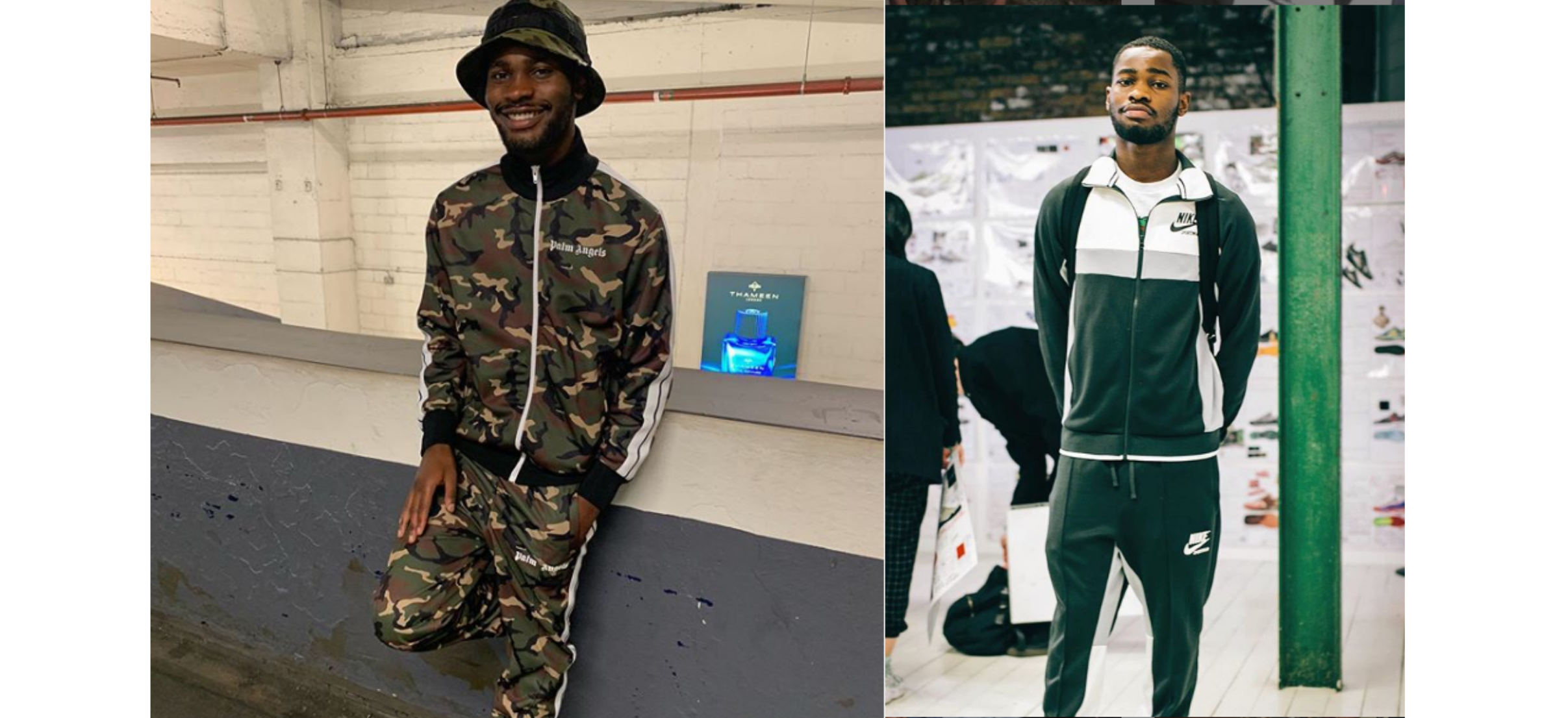 Dave and his various tracksuit streetwear looks