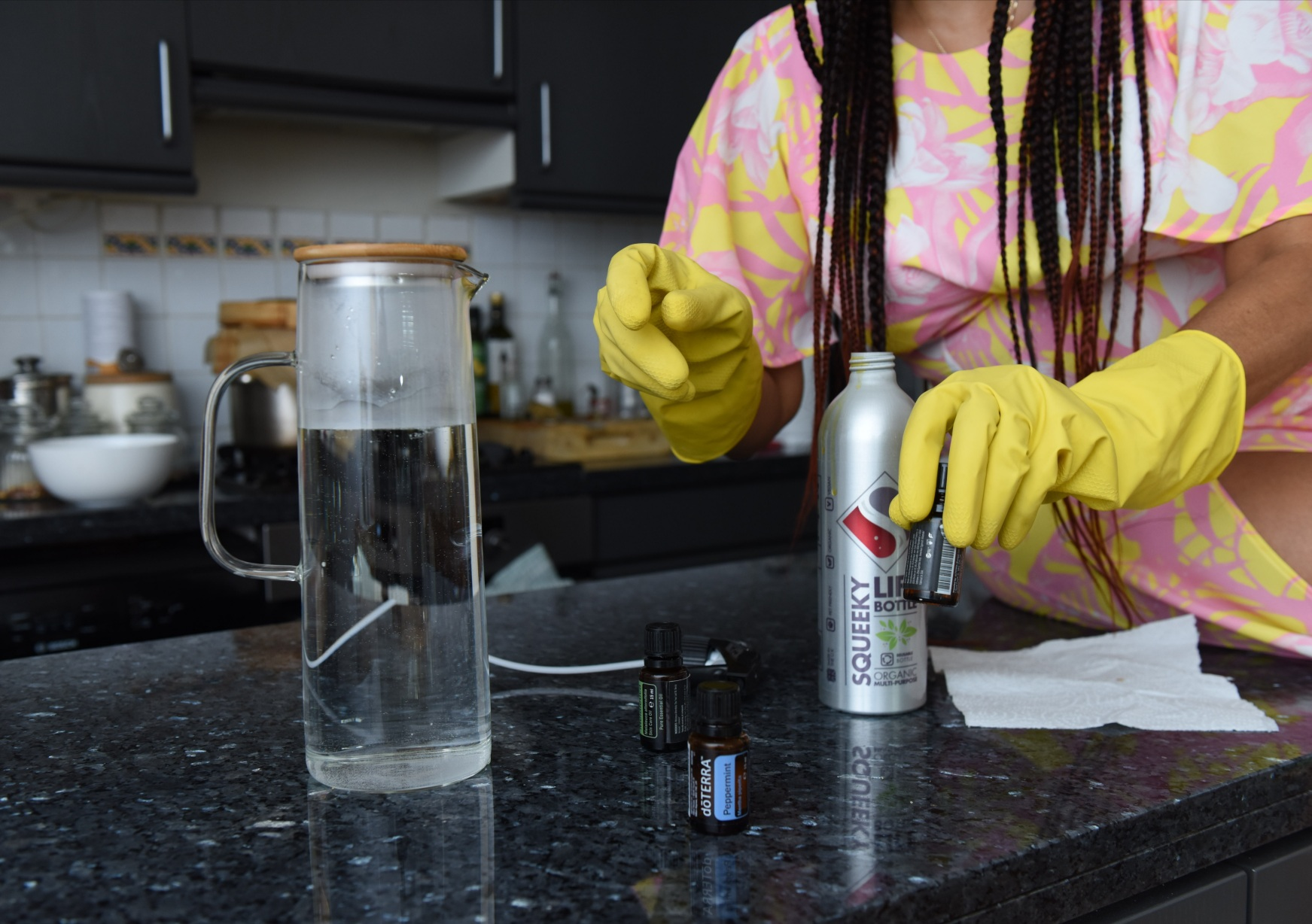 The Products and Essential Oils You Need for  Chemical-Free Cleaning