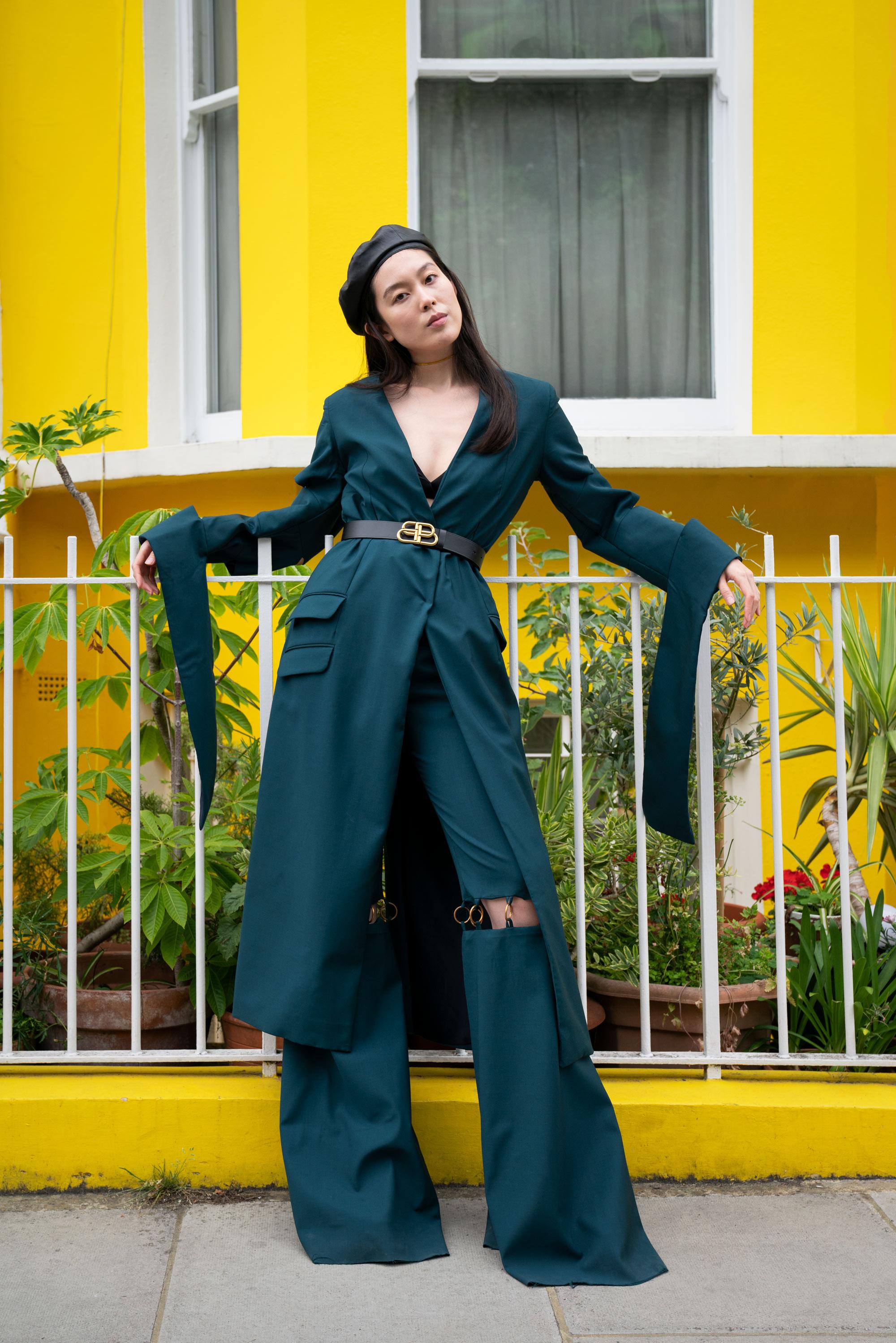 Model Monday New Face Yixin Jenny Zhang