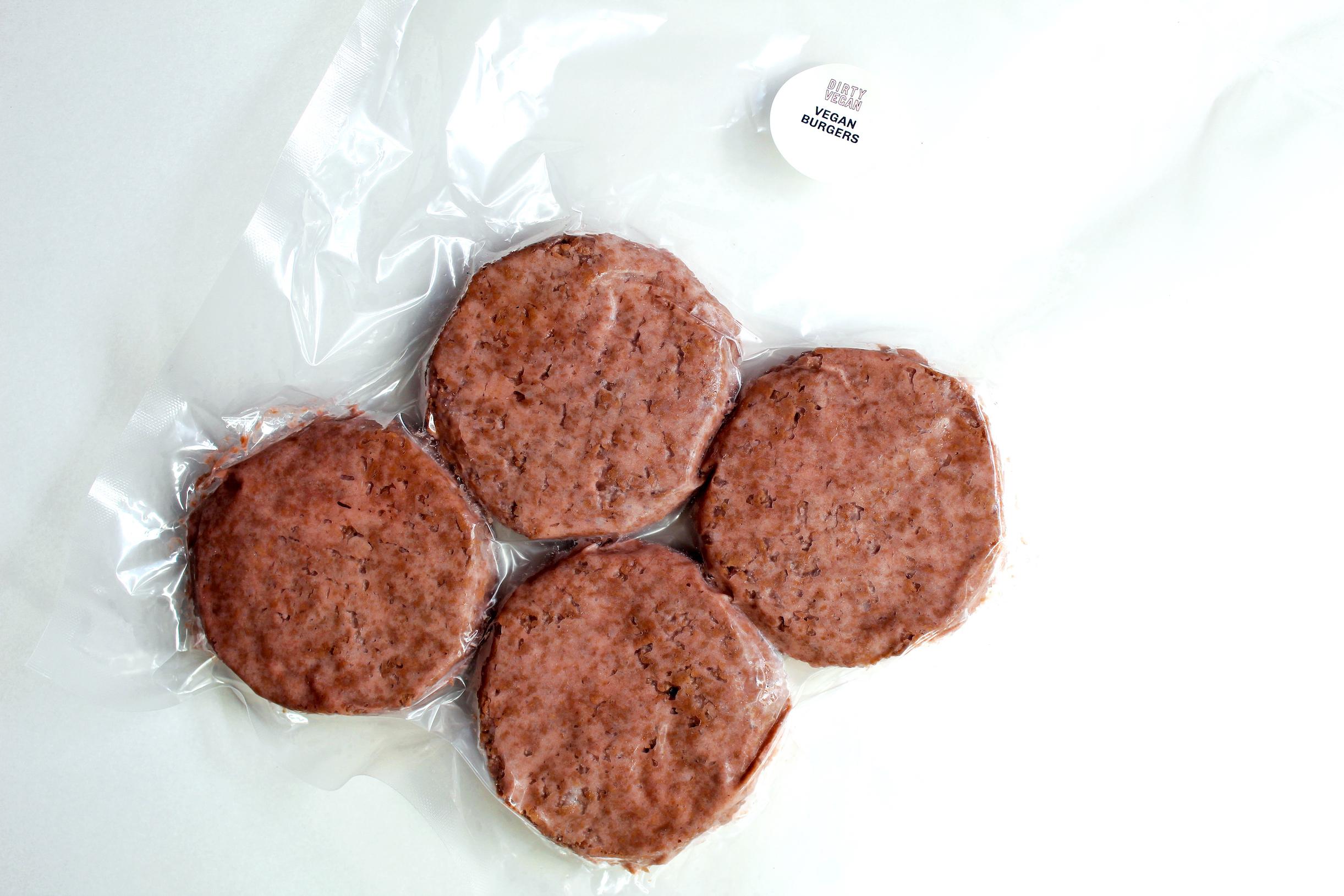 Dirty Vegan Burger Kit