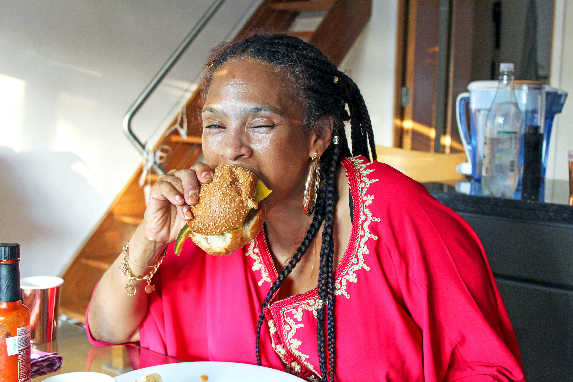 Dining In London| Dirty Vegan Burger Kit