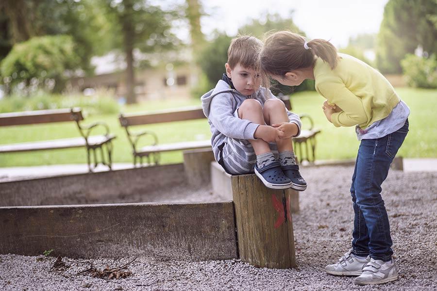 benachteiligte Kinder