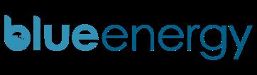 Blue Energy Logo i vores header