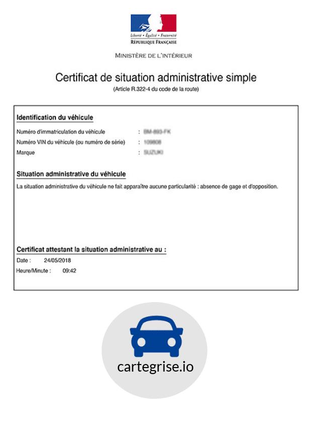 Telecharger Un Certificat De Non Gage Sur Internet