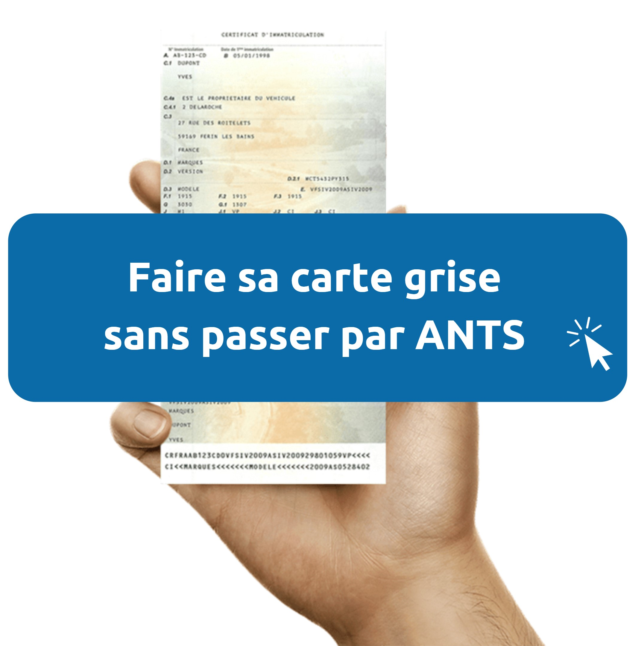 ANTS immatriculation carte grise