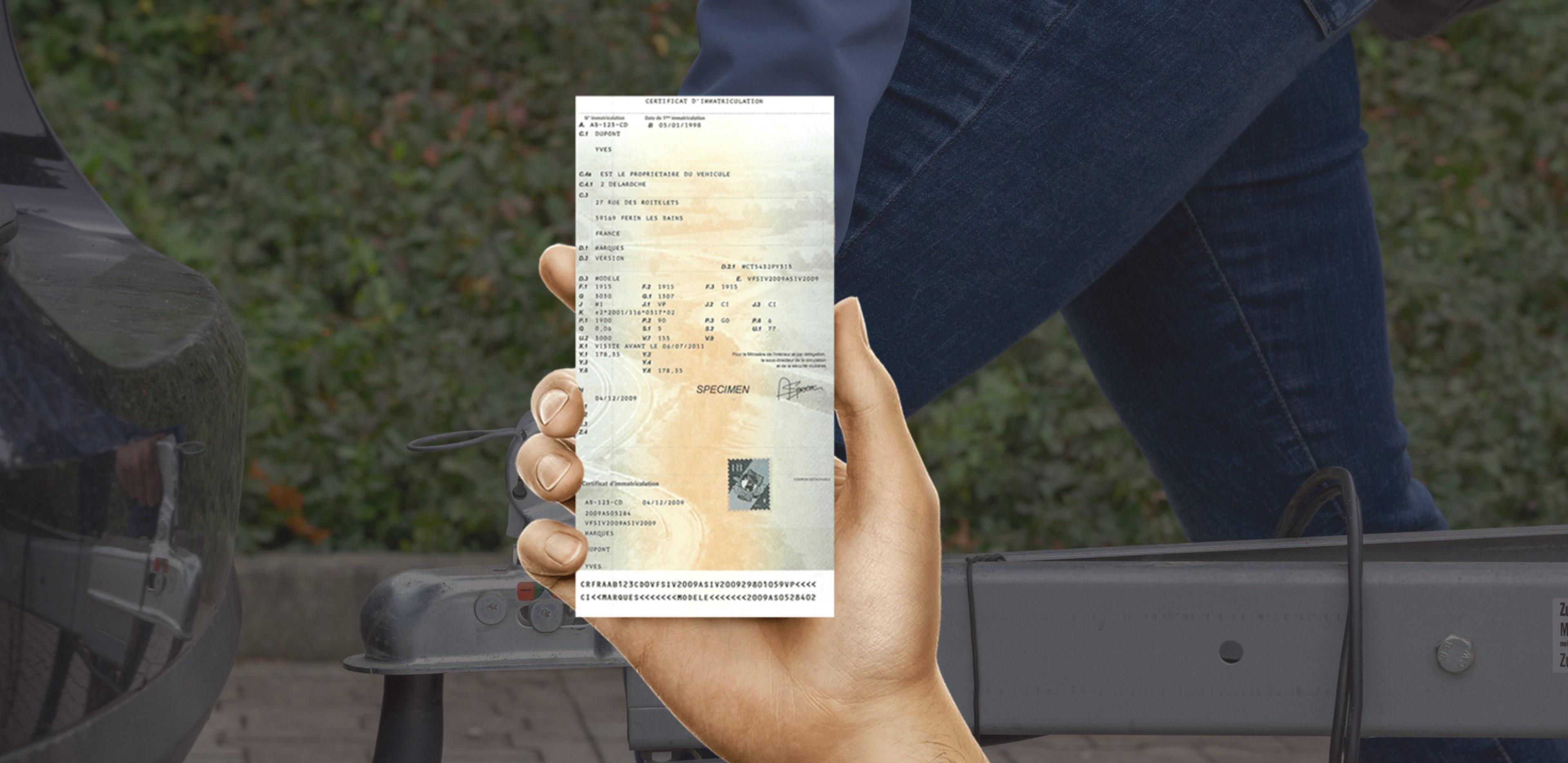 Changement d'adresse carte grise remorque