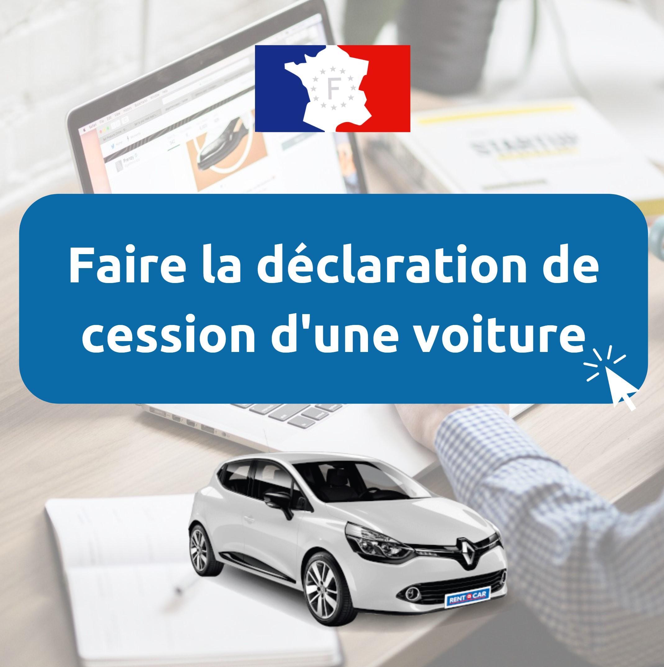 Certificat de cession voiture