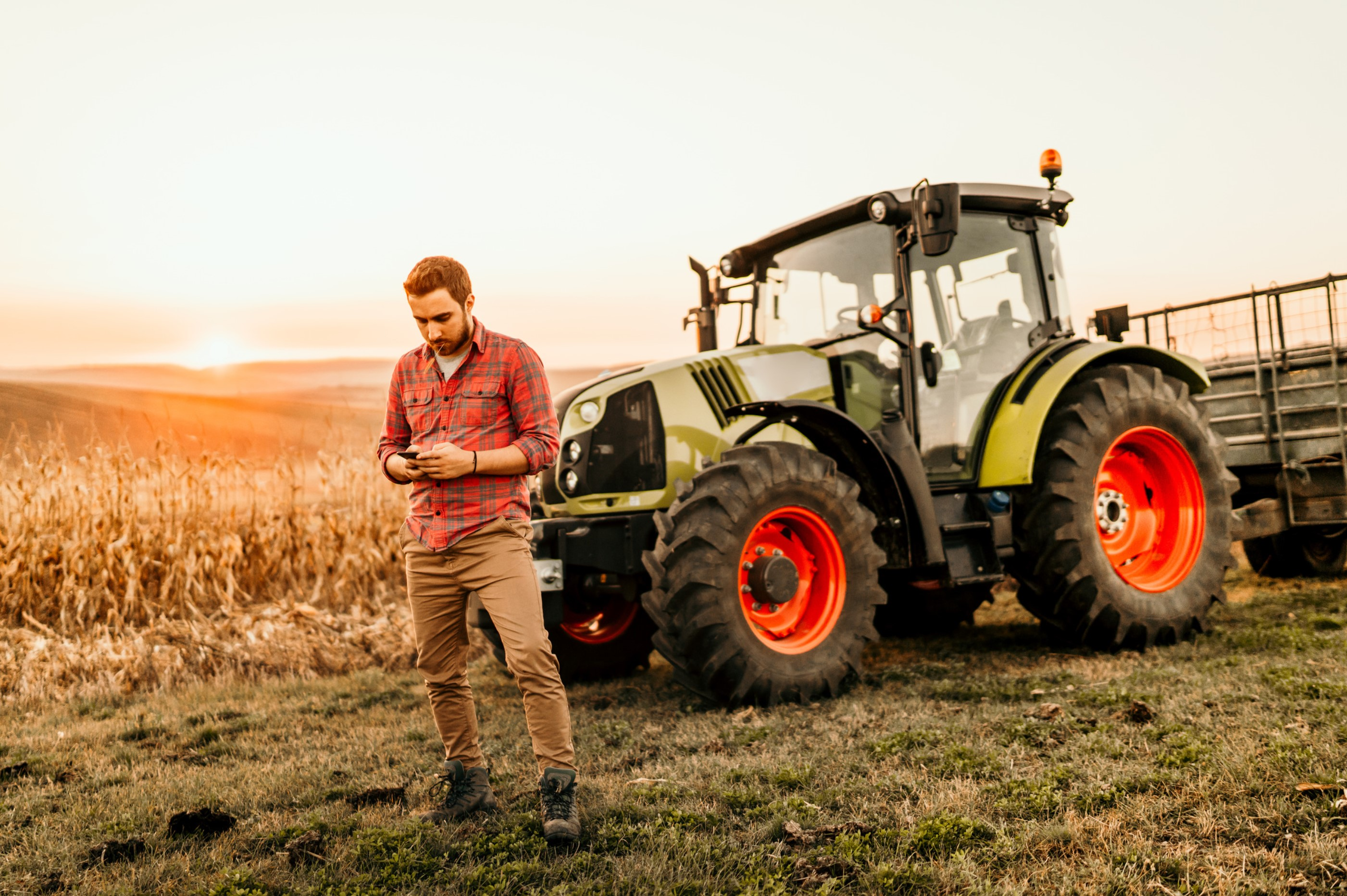 Changement carte grise matériel agricole