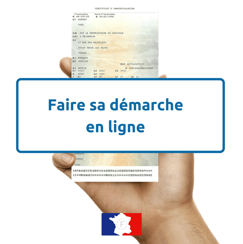 Compléter certificat immatriculation