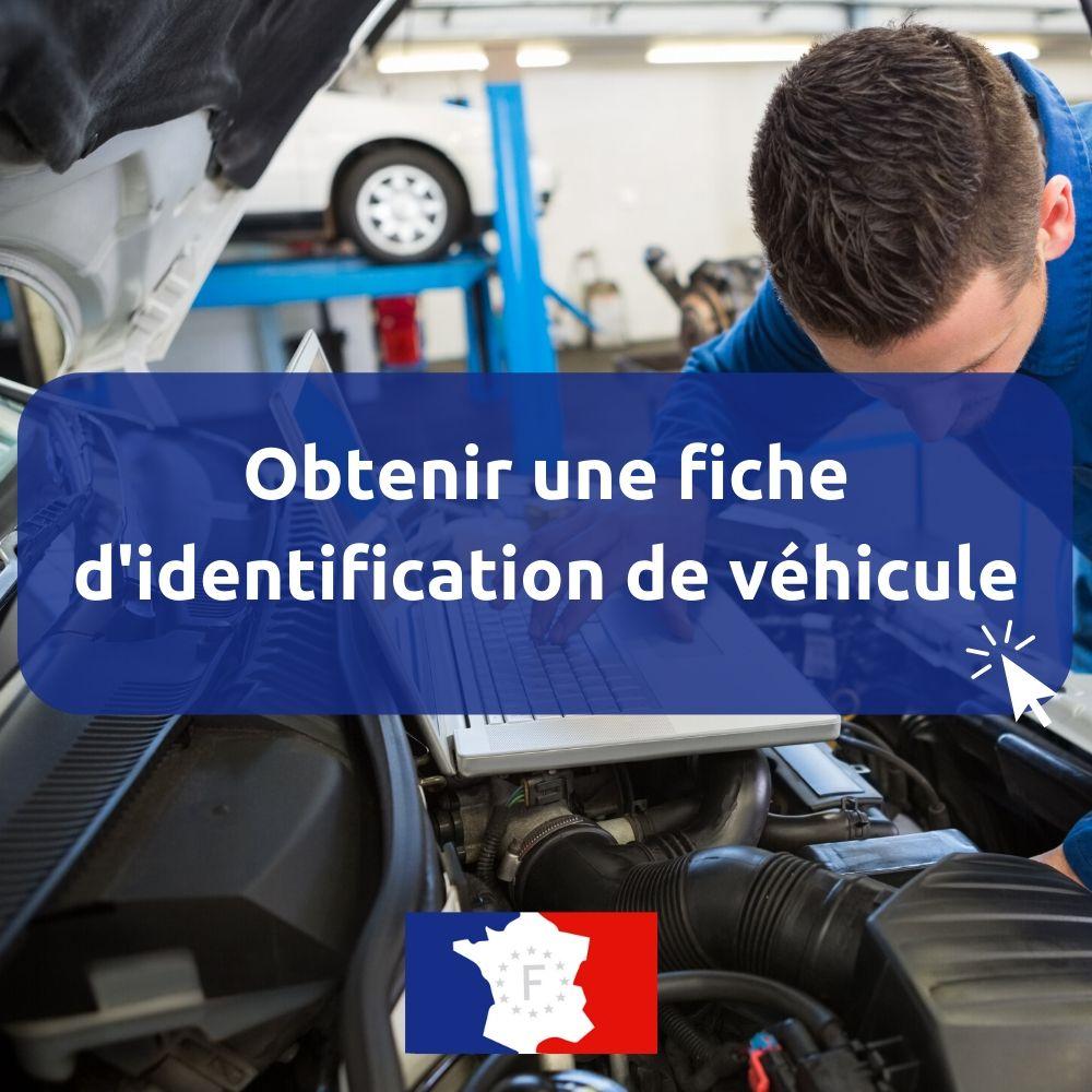 fiche identification vehicule en ligne