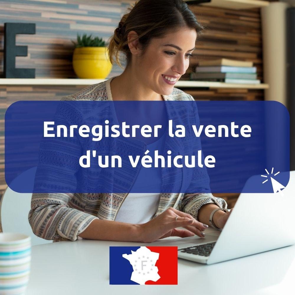 enregistrer la vente d'un véhicule