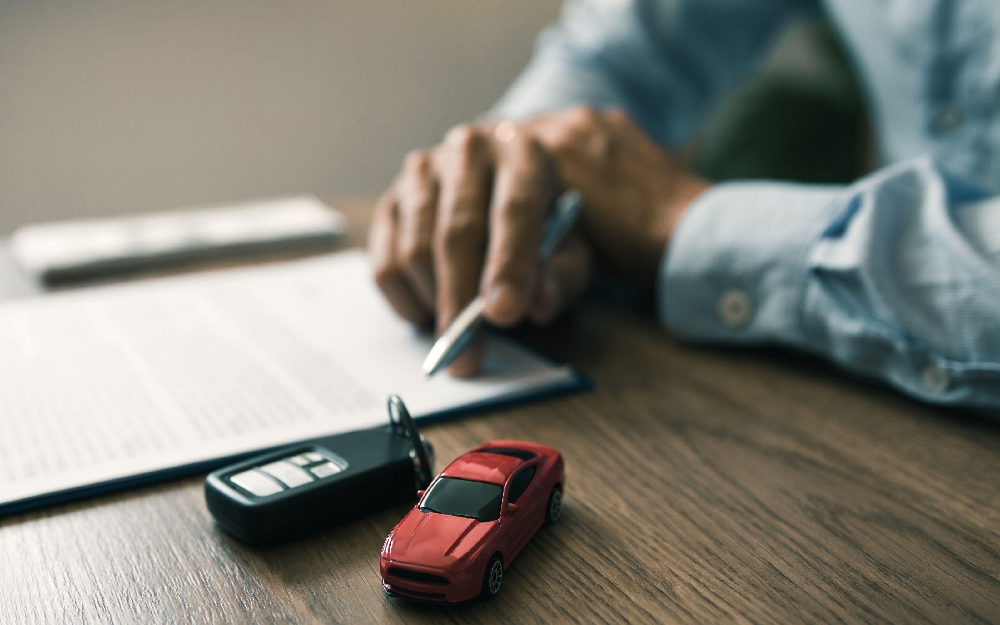 Déclaration d'achat de véhicule