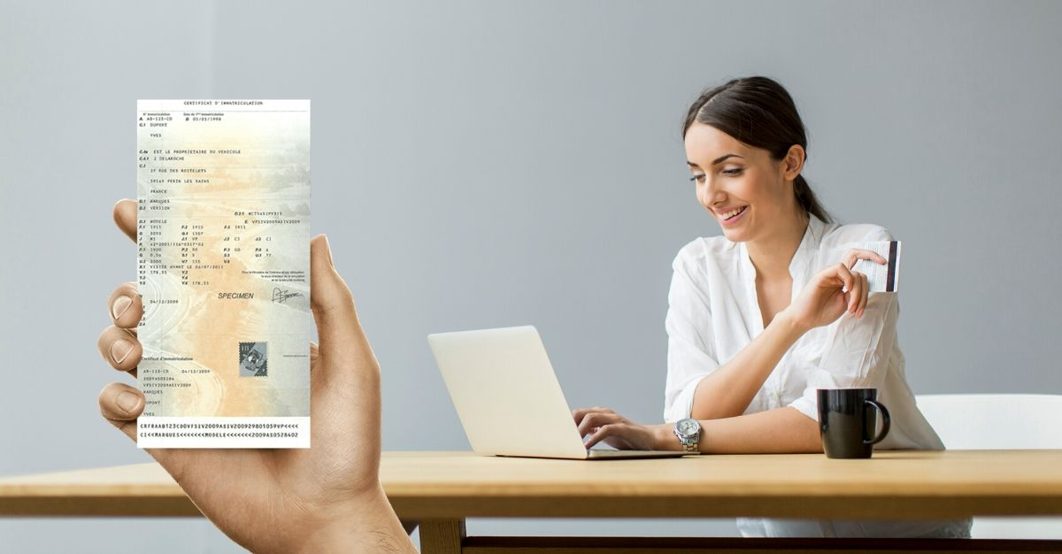 démarche carte grise en ligne