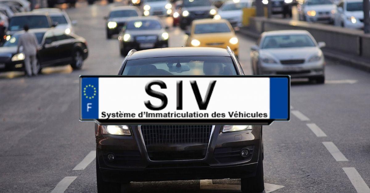 immatriculation SIV