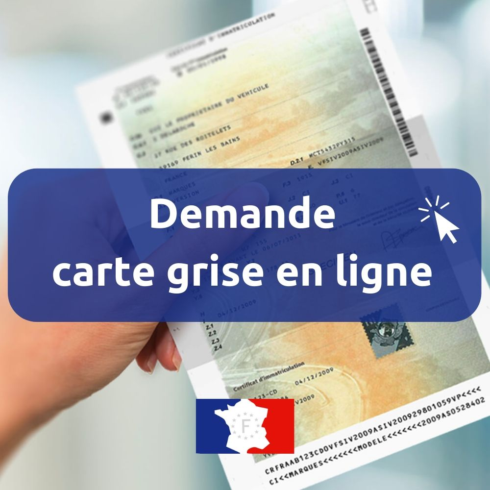 formalite carte grise