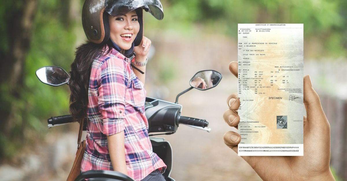 carte grise moto
