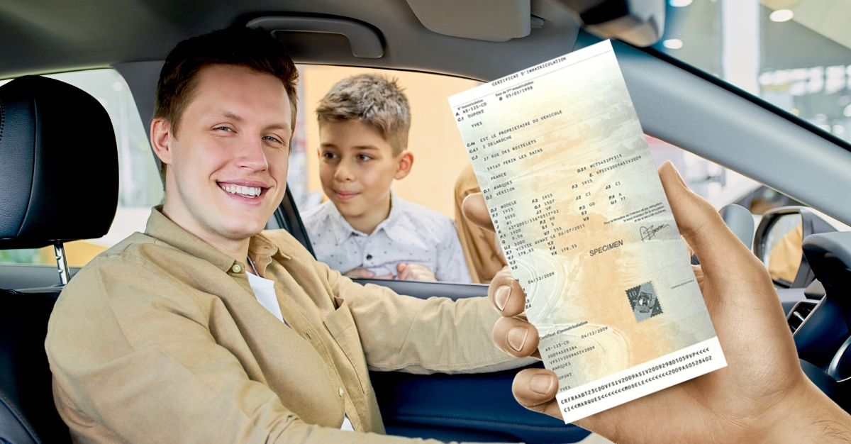 demande certificat immatriculation achat véhicule