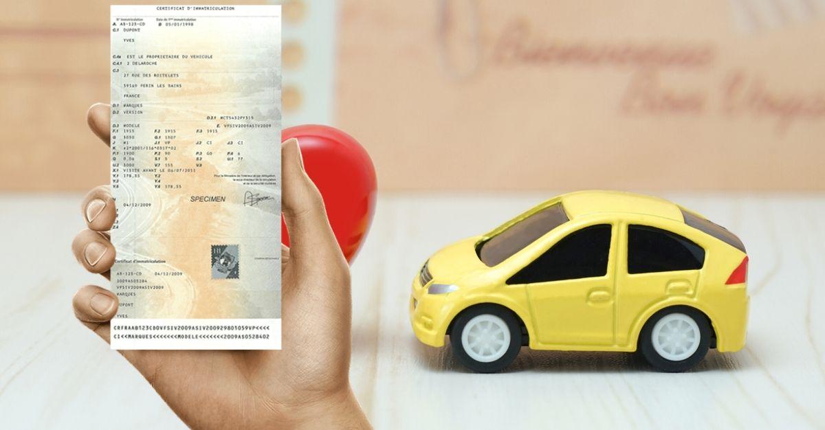 duplicata certificat immatriculation