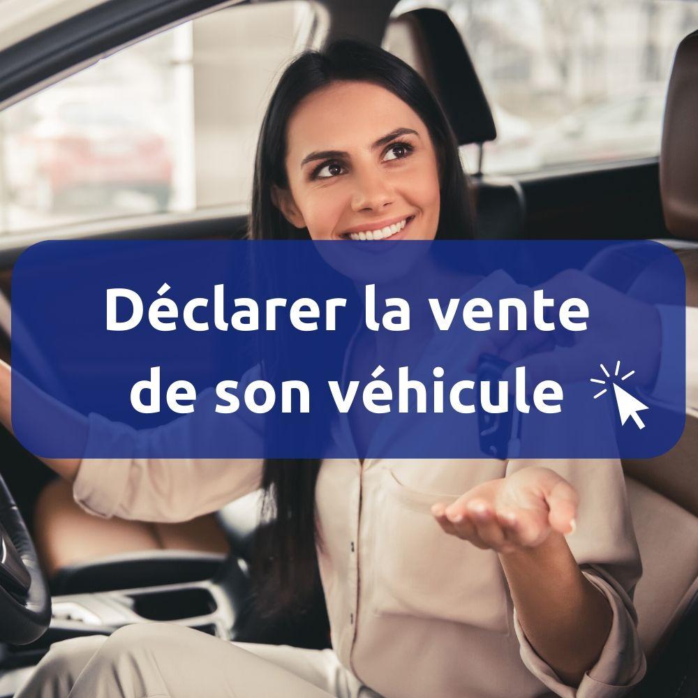 Procédure pour vendre un véhicule