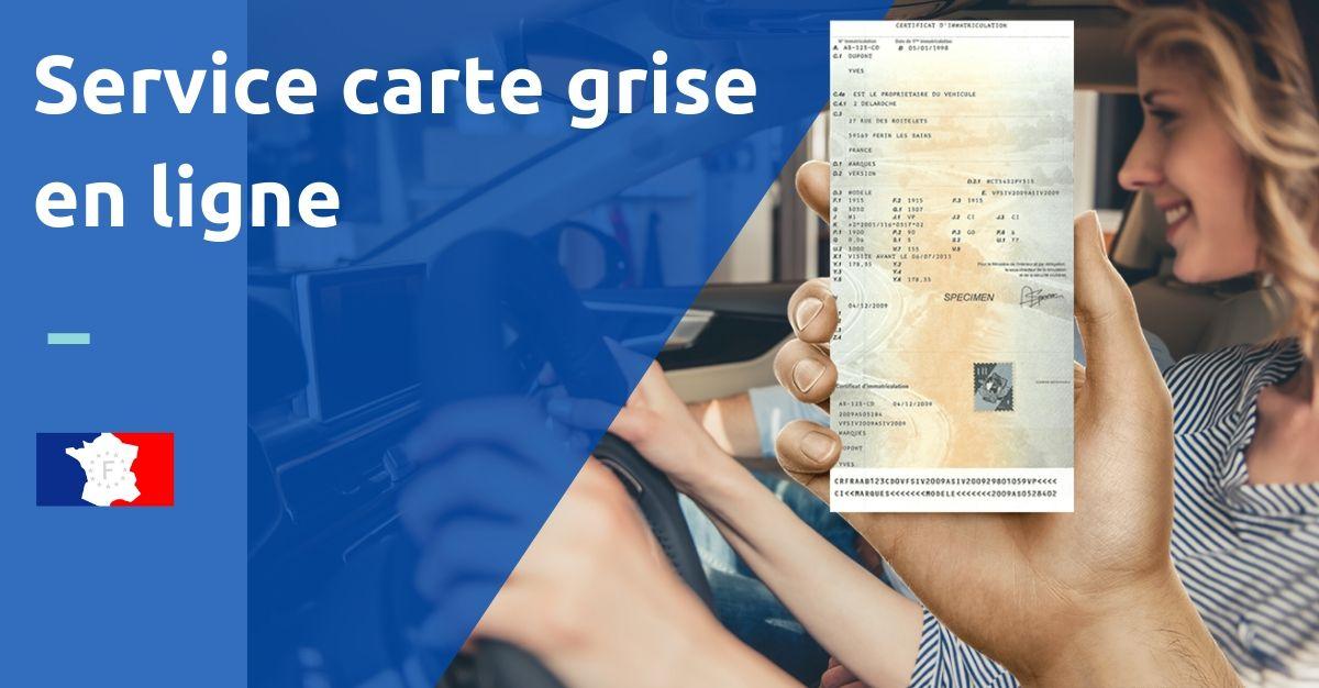 service carte grise en ligne