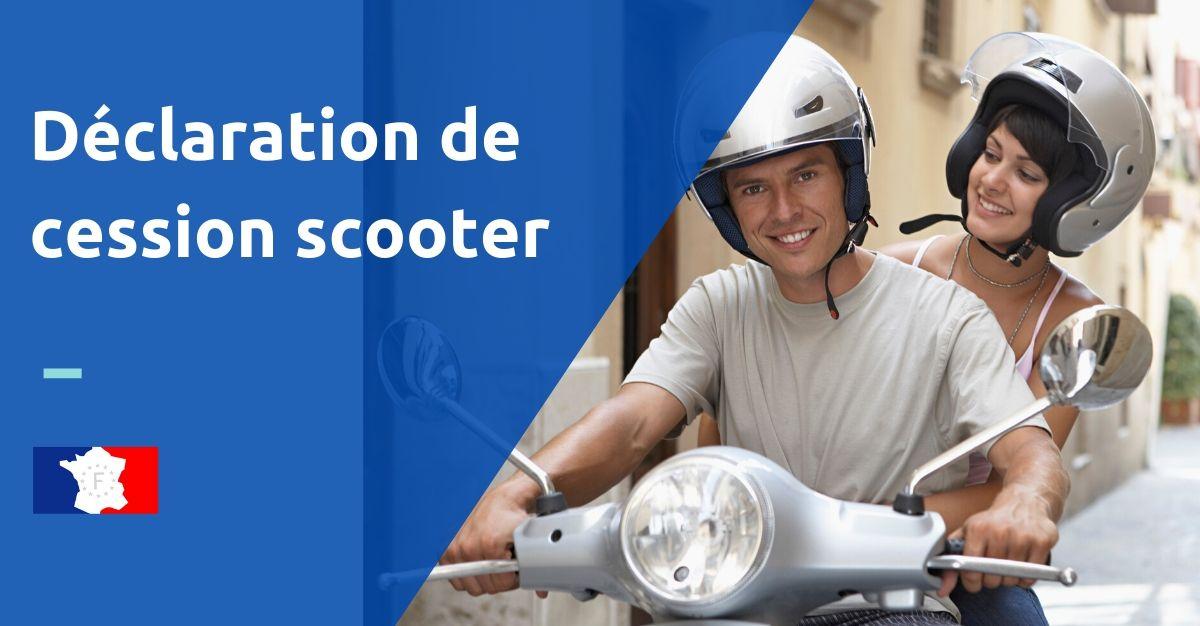 déclaration de cession scooter