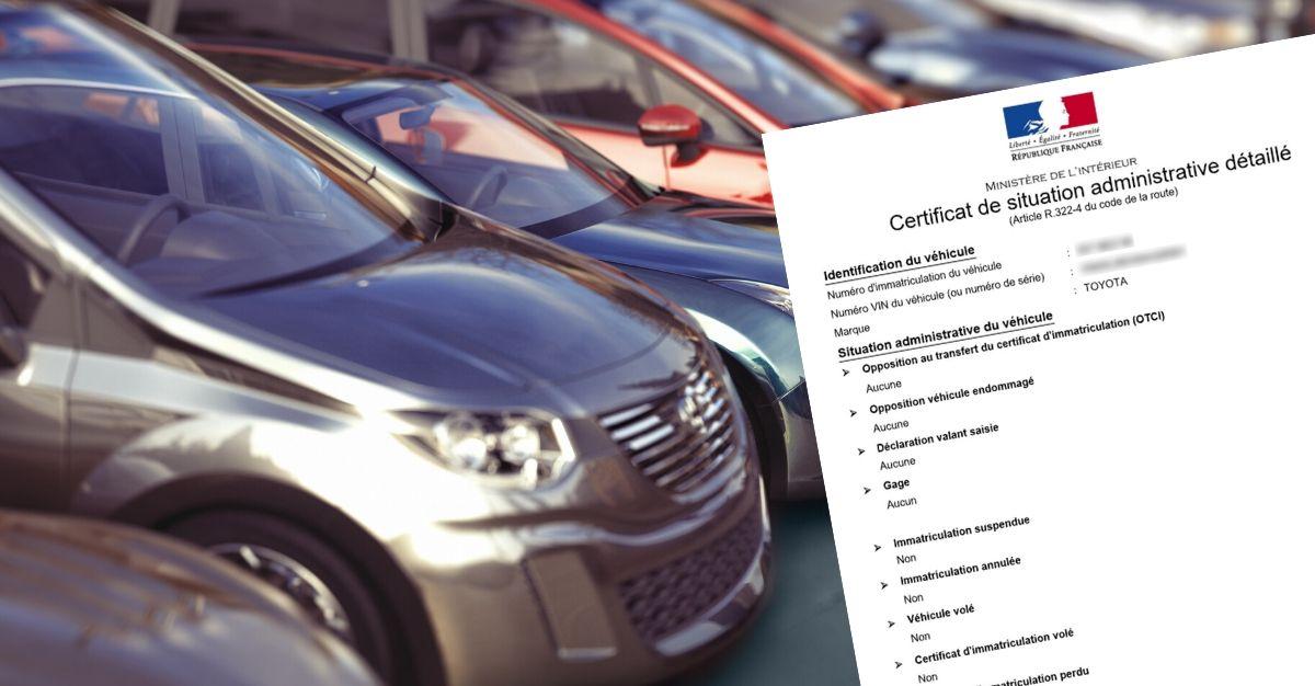 Quand demander un certificat de non gage / situation administrative détaillé ?