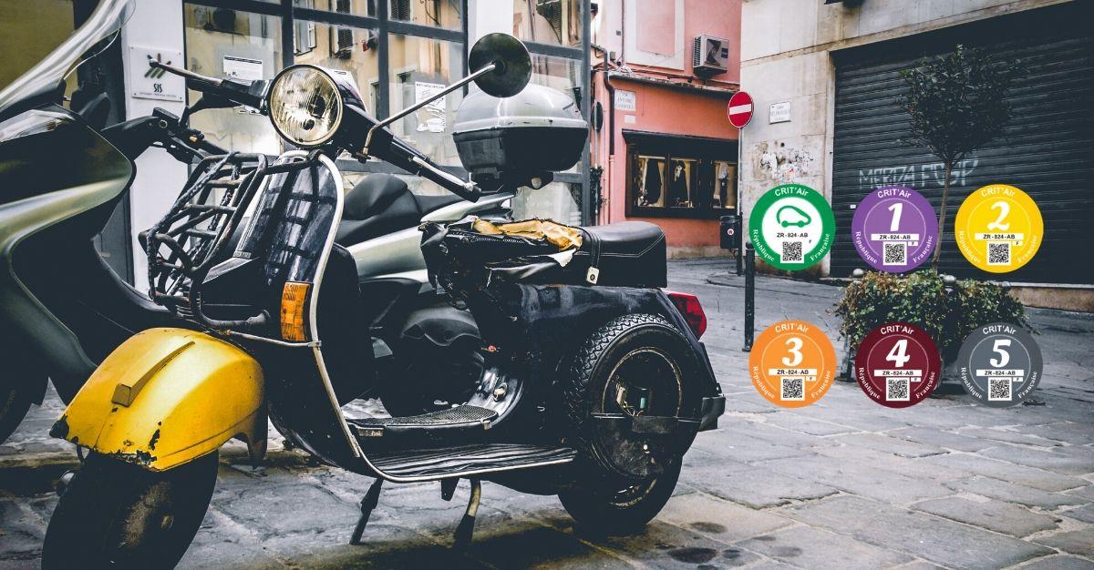 Vignette Crit air scooter