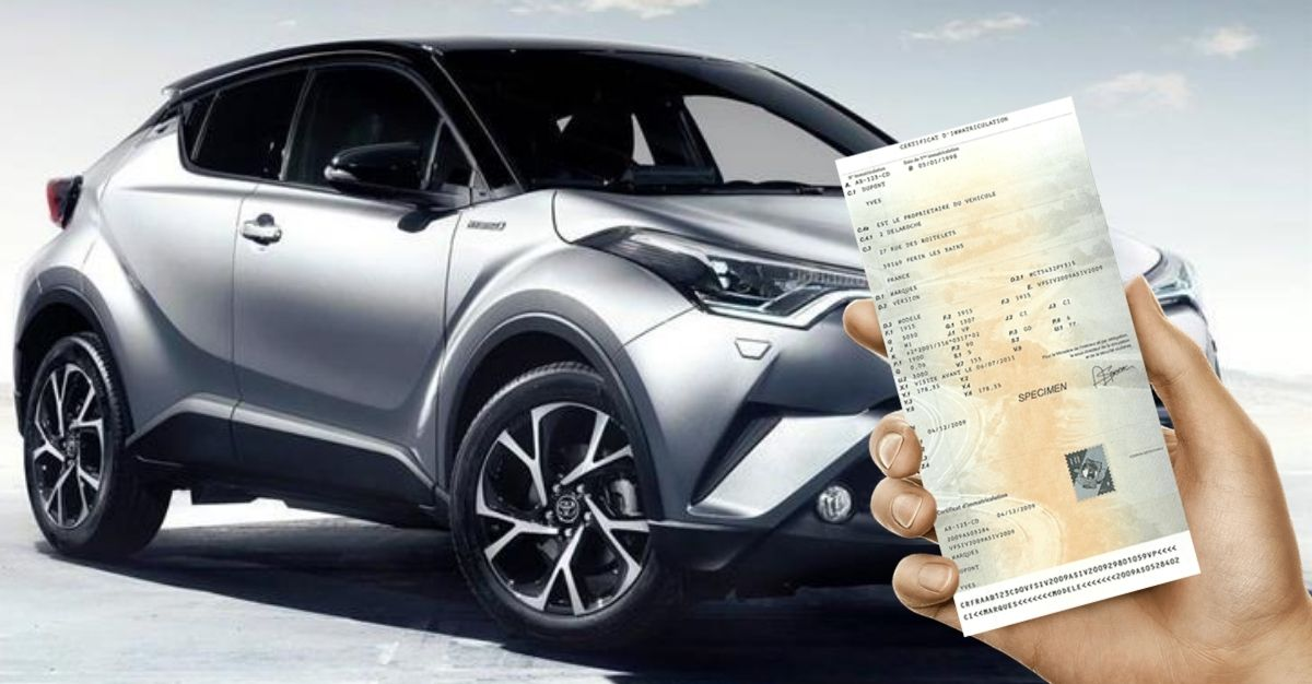 carte grise véhicule hybride