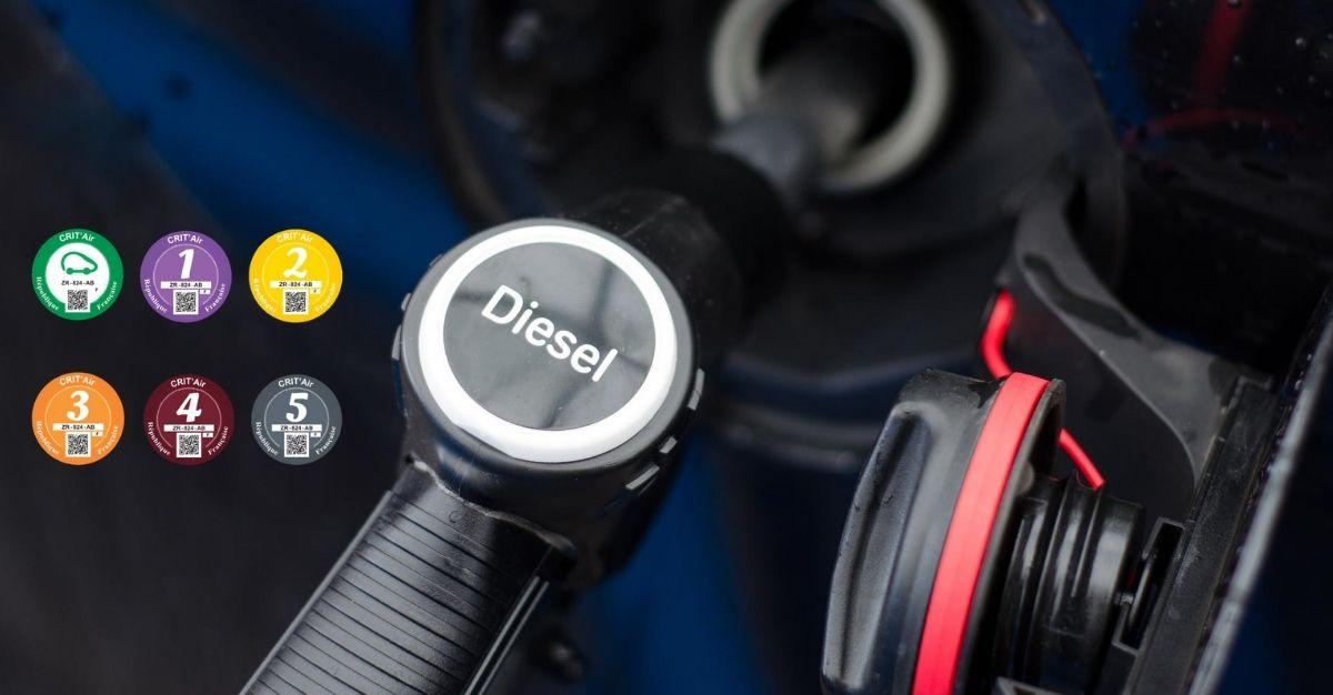 Vignette Crit Air diesel